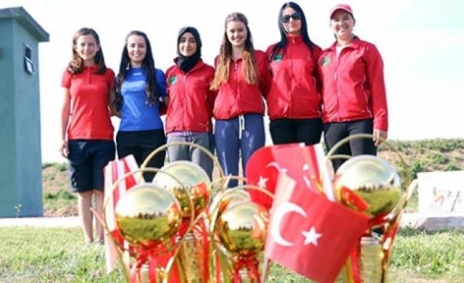 Bursa'da KKTC sporcuları esti