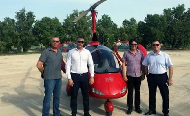 Cahitoğlu, Hava Sporları Federasyonu'nu ziyaret etti