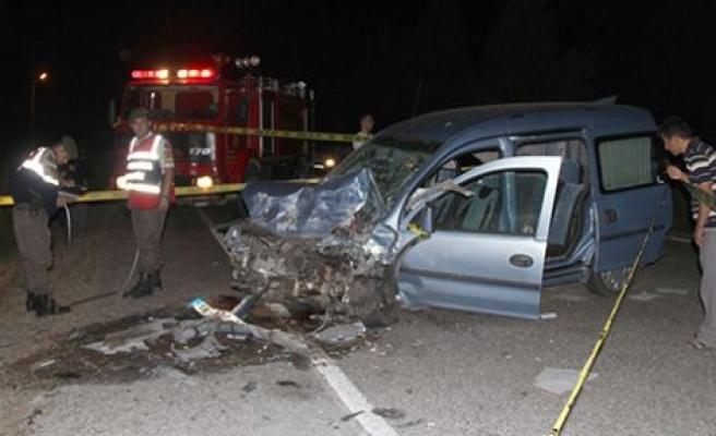 Çankırı'da korkunç kaza