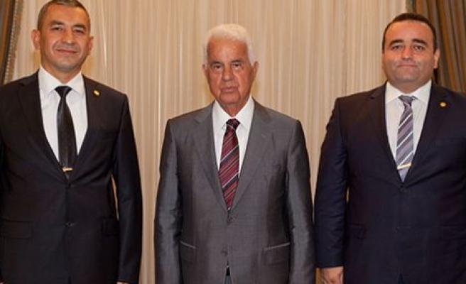 Cumhurbaşkanı Eroğlu, Alakuş Ve Yarımbaş'ı kabul etti