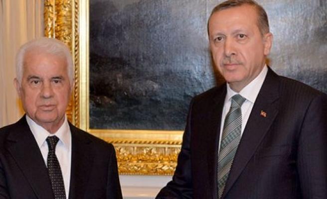 Cumhurbaşkanı Eroğlu, Erdoğan'a kutlama mesajı da gönderdi
