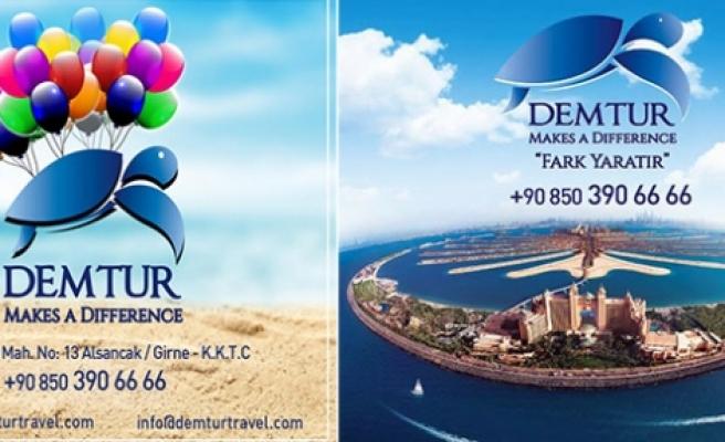 Dubai'de kışın ortasında yaz keyfi