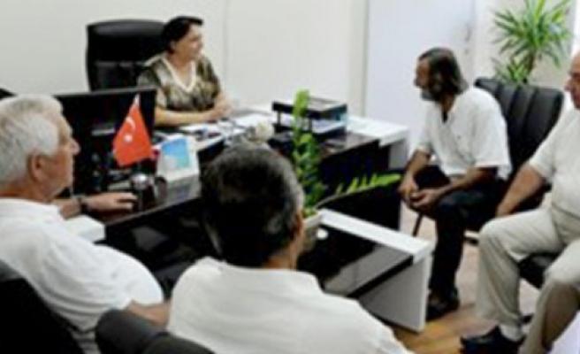 Erenköy Mücahitler Cemiyeti'nden TAK Müdürü Saygılı'ya teşekkür ziyareti