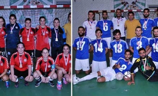 Futsalın şampiyonları DAÜ ve LAÜ