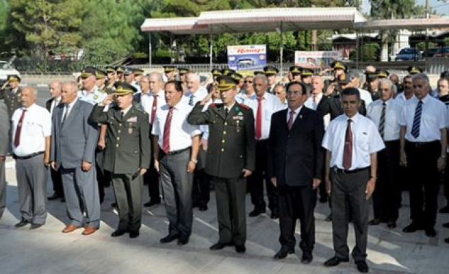"""""""Gaziler Günü"""" nedeniyle bugün Lefkoşa tören düzenlendi"""