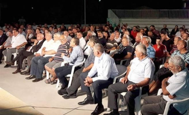 Halk Meclisi Programında Mahşeri kalabalık
