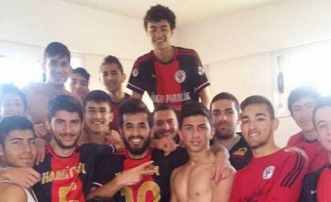 Hamitköy gençleri şampiyonluğa ilerliyor
