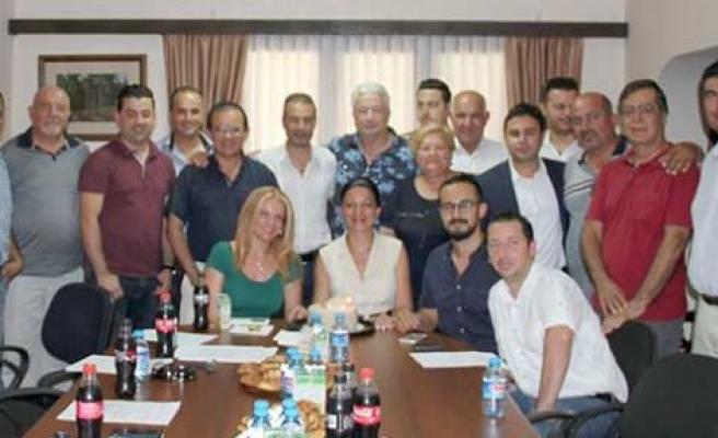 Hasan Sungur yeniden başkan seçildi