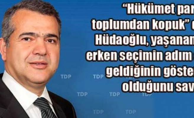 Hüdaoğlu: 'TDP hazır'