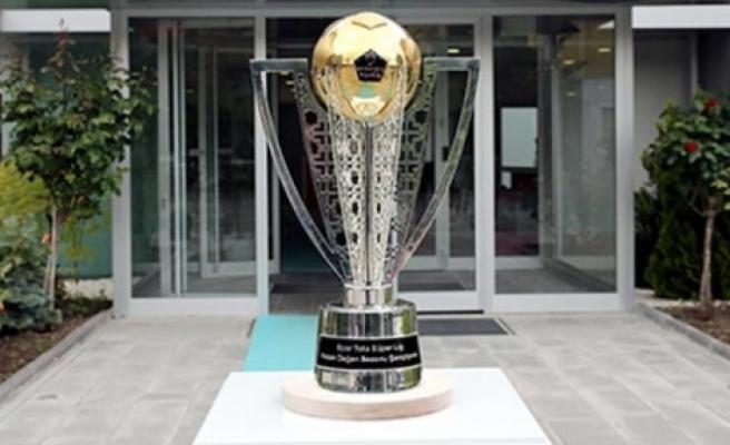 İşte şampiyonun kupası