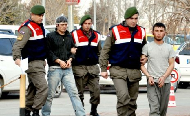 Jandarma tutukladı