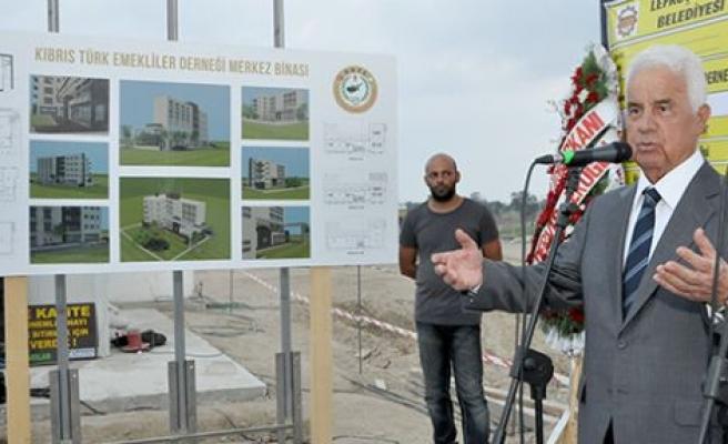 K.T. Emekliler Derneği'nin Yeni Merkez Binasının temeli atıldı