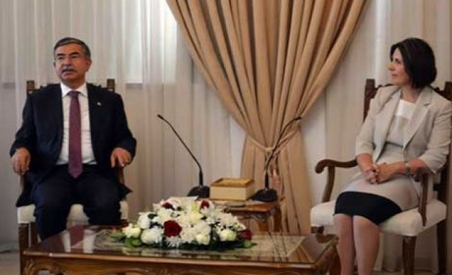Meclis başkanları görüştü