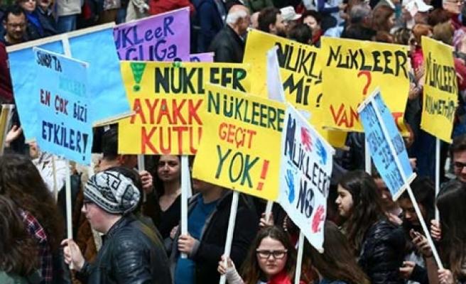 Nükleer santrallere  'hayır'