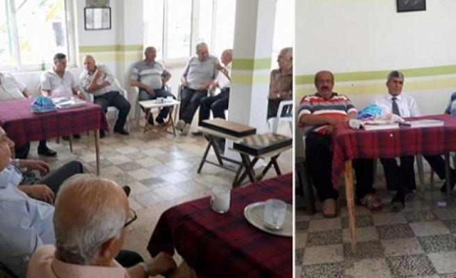 Polis emeklileri Mehmetçik'te buluştu