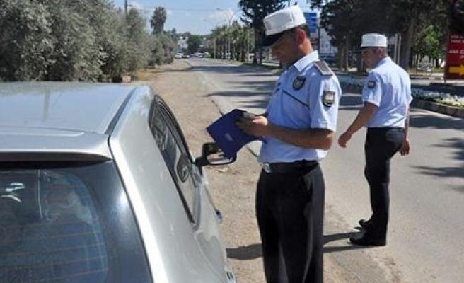 Polis iş başında