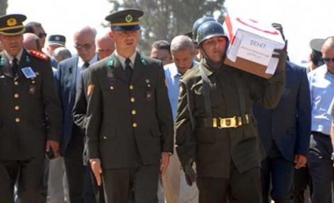 Şehit Mehmet A. Çatallo askeri törenle uğurlandı