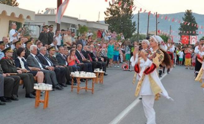 Serdarlı'nın kurtuluşu 40. yıl dönümünde kutlandı