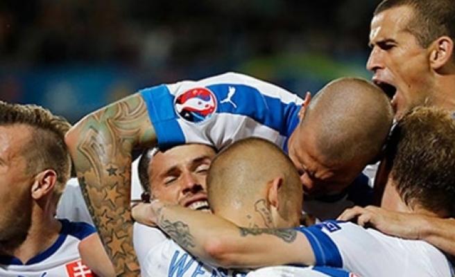 Slovakya, Rusya'yı devirdi 2-1