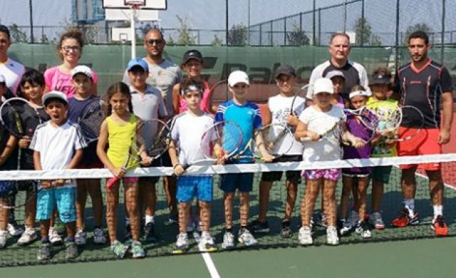 Teniscilerimiz Bursa'da
