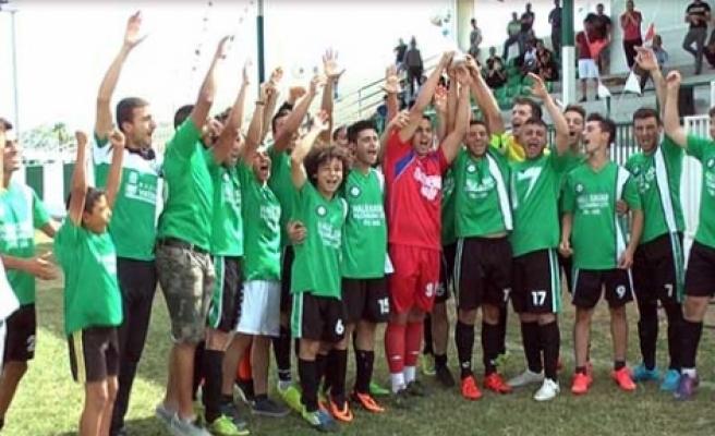 Türkmenköy A2 Kupası'na Kavuştu