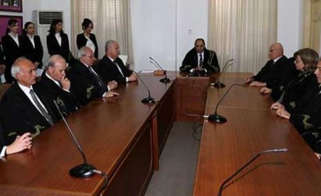 Yeni atanan yargıçlar yemin ederek görevlerine başladı