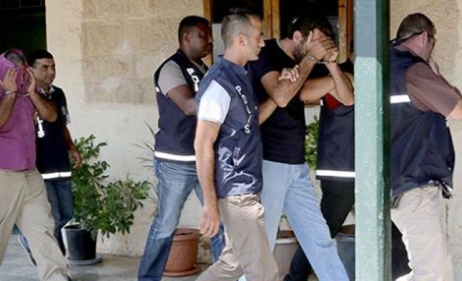 Zanlılar hakkında 7'şer gün daha tutukluluk emri alındı