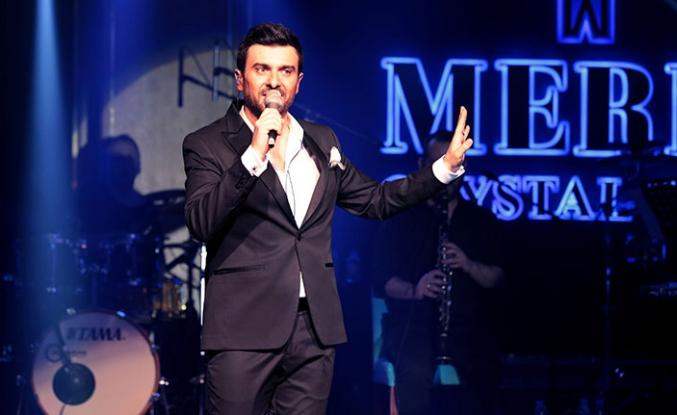 Gökhan Tepe, Merit Crystal Cove Hotel'de unutulmaz bir konsere imza attı