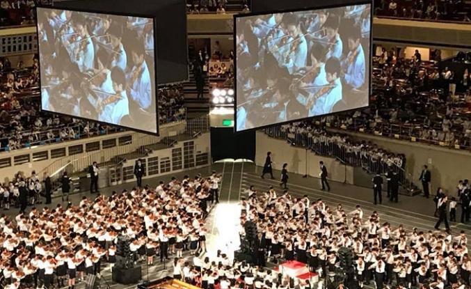 Kıbrıs Sanat Müzik ve Bale Okulu öğrencileri Tokyo'da performans sergiledi