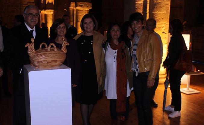 Vounous Uluslararası Pişmiş Toprak sergisi ziyarete açıldı