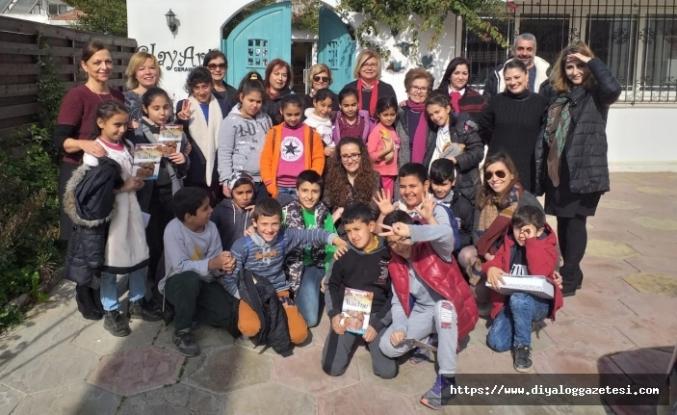 Girne Inner Wheel Kulübü, çocuklarla Kıbrıslı sanatçıları bir araya getirdi