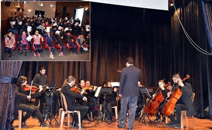 Lefkoşa Belediye Orkestrası Eğitim Konserleri gerçekleştirdi
