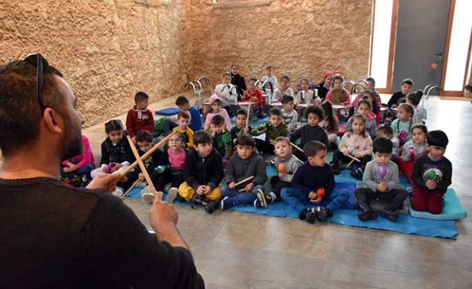 """Girne Belediyesi'nin, """"Eğitime Kısa Bir Mola"""" sloganıyla düzenlediği etkinlik sona erdi"""