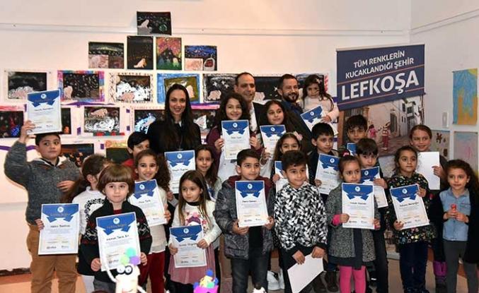 """LTB ile EMAA'nın ortaklaşa düzenlediği """"Çocuk Atölyesi"""" kurs sergisi açıldı"""