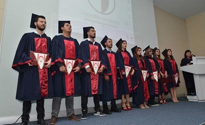 YDÜ Sağlık Bilimleri Fakültesi Güz Dönemi mezuniyet töreni gerçekleştirildi