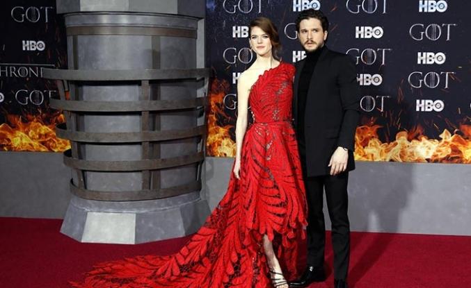 Game of Thrones sezon galasını yaptı
