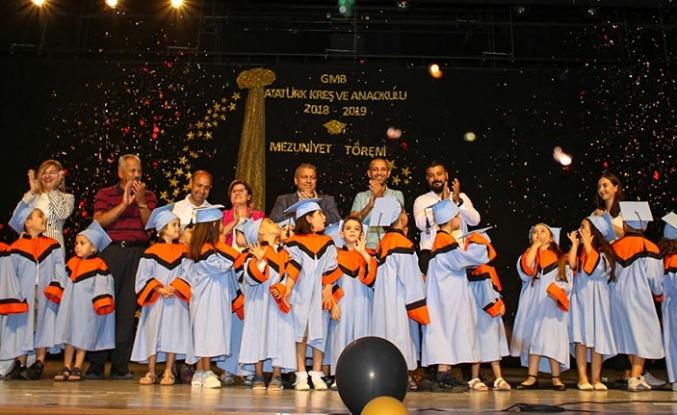 Gazimağusa Belediyesi Atatürk Kreş ve Anaokulunun gösterileri beğeniyle izlendi