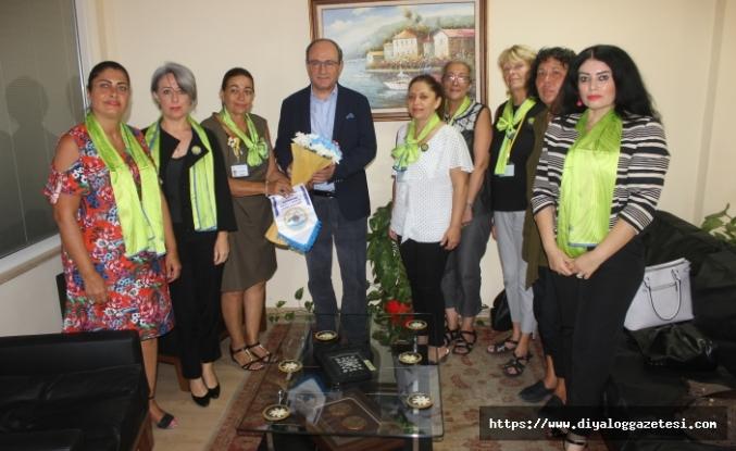 Güzelyurt Yeşilada Lions Kulübü ve Alsancak Maremonte Lions Kulübü'nün başkan ve yönetim kurulu üyeleri Diyalog Medya'yı ziyaret etti