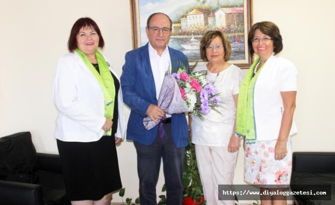 Lefkoşa Başkent Lions Kulübü yöneticileri Basın Günü dolayısıyla Diyalog Medya Grubu'na ziyarette bulundu