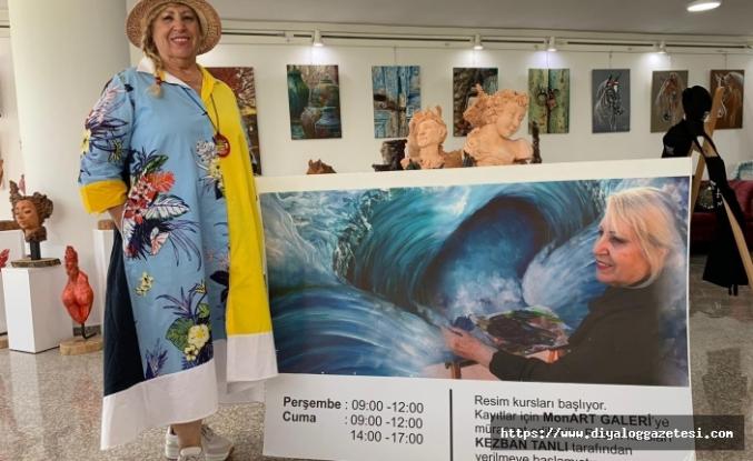 Monart resim ve heykel kurslarına kayıtlar devam ediyor