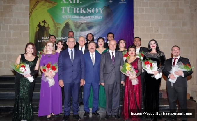 'Türksoy Opera Günleri' etkinliği Bellapais'te yapıldı