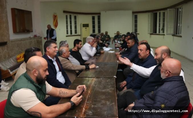 Çetinkaya'da kritik toplantı