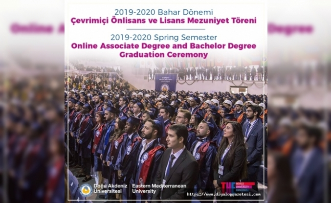 DAÜ'de 71 ülkeden 2 bin 232 mezun