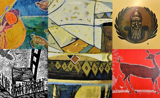 20 sanatçının 40 eseri, ocak ayı sonuna kadar ziyaret edilebilecek
