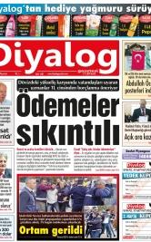 Diyalog Gazetesi - Kıbrıs'ta Haberin Merkezi - 19.03.2018 Manşeti