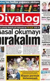 Diyalog Gazetesi - Kıbrıs'ta Haberin Merkezi - 21.03.2018 Manşeti