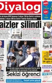 Diyalog Gazetesi - Kıbrıs'ta Haberin Merkezi - 23.03.2018 Manşeti